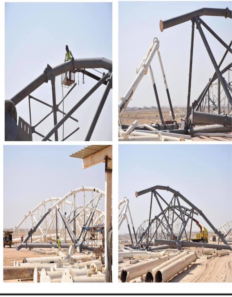 اخر مستجدات مشروع ملعب الانبار الاولمبي
