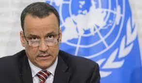موكب المبعوث الدولي في اليمن لاطلاق نار في مطار صنعاء