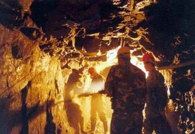 China announces the discovery of a large gold mine