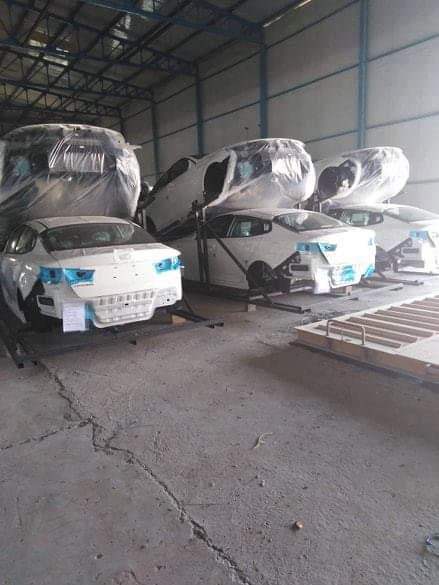 Iraq  starts with the production of Korean cars Image
