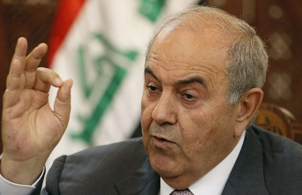 "Iyad Allawi, ""threatening"" Abdul Mahdi: This is what I will do if you did not personally receive the ""Ministry of Defense""! Image"