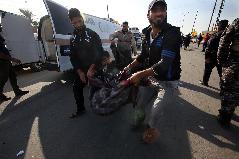 قتيل و3 جرحى بانفجار  عبوة ناسفة جنوبي بغداد