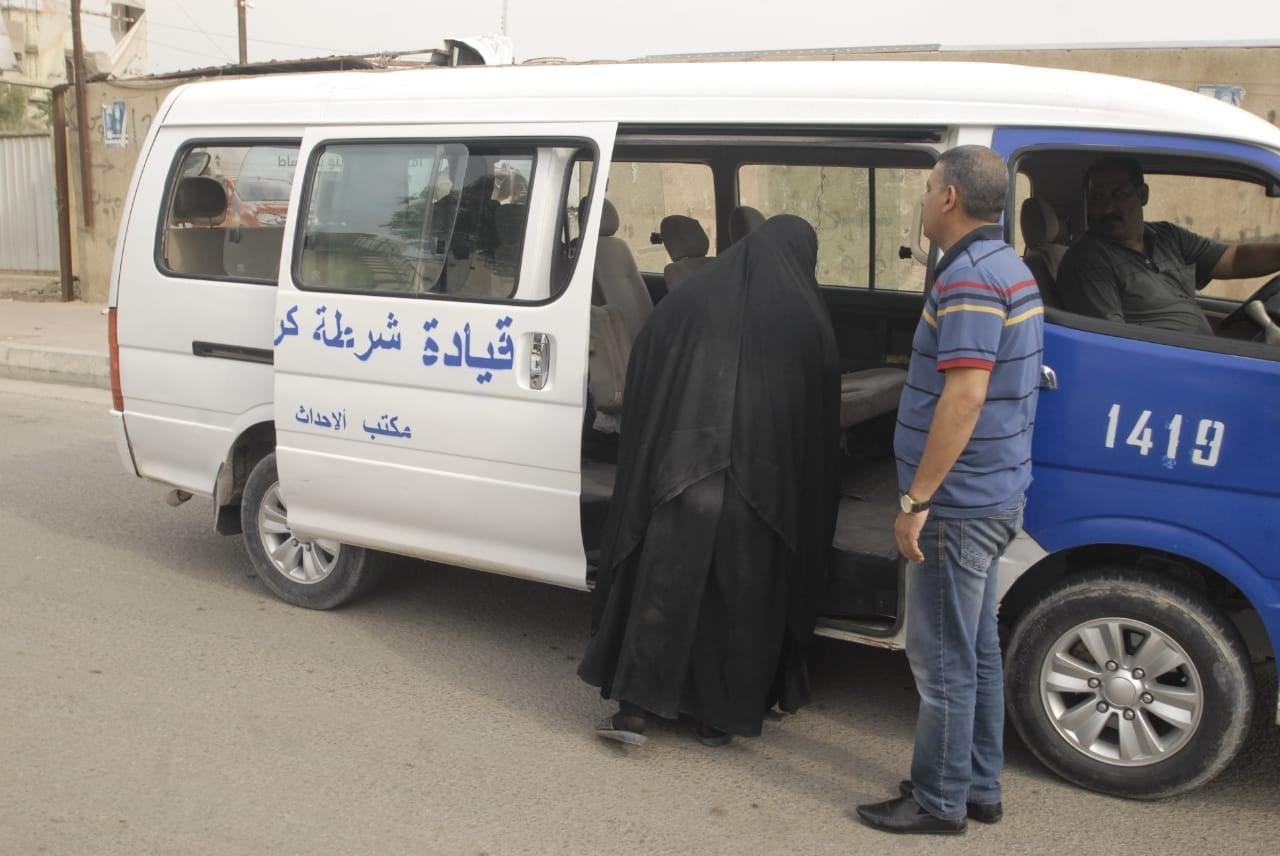 شرطة كربلاء تكشف أعداد المقبوض عليهم من المتسولين
