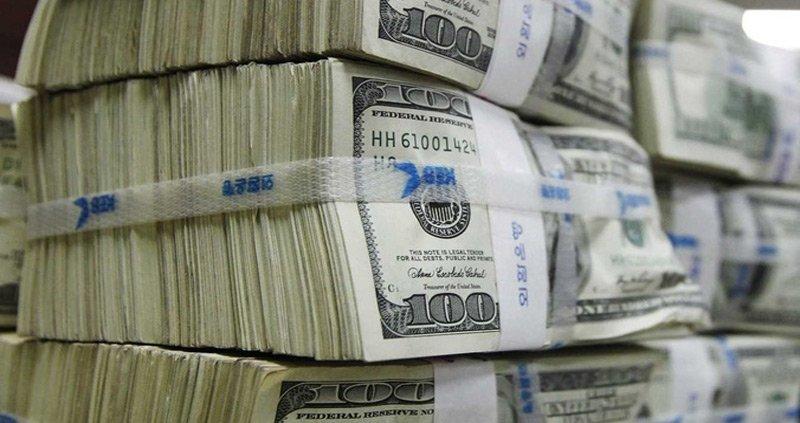 انخفاض مبيعات البنك المركزي الى 8 ملايين دولار