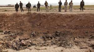 القوات الأمنية تعثر على مقبرة جماعية تضم جثث محروقة شمالي مدينة الرمادي