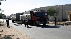إسرائيل تعيد فتح معبر كرم أبو سالم مع غزة