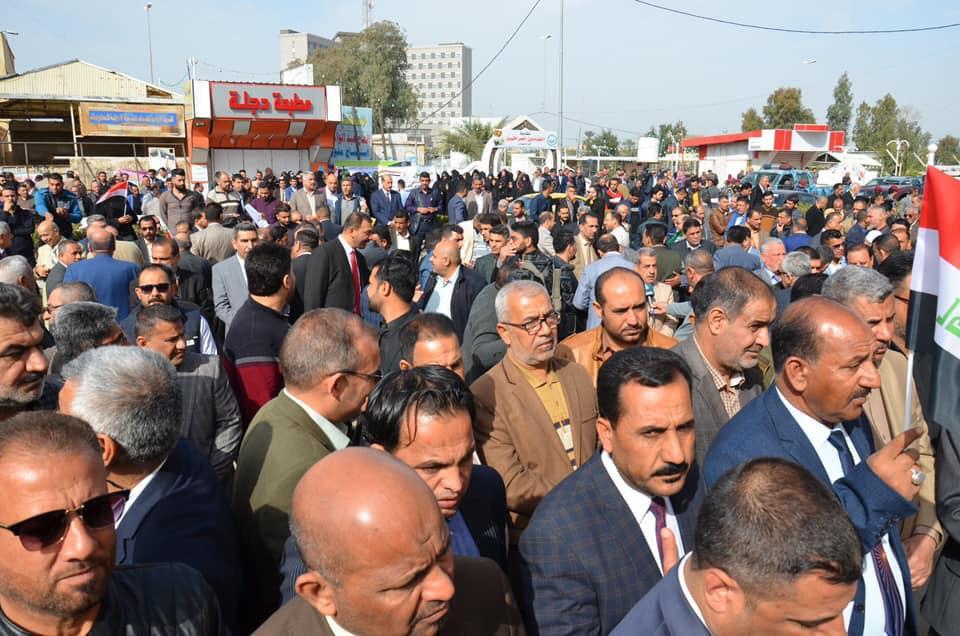 بالصور ..  اضراب المعلمين في محافظة ميسان