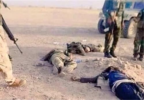 مقتل 5 دواعش في مناطق تابعة لناحية تازة جنوب كركوك