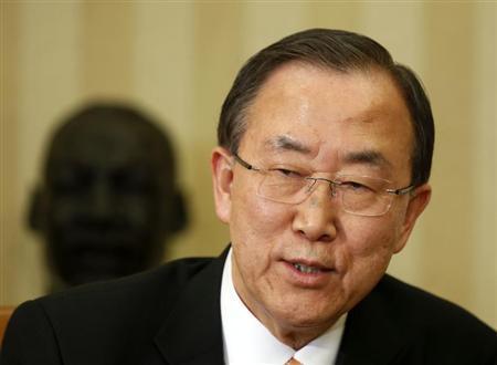 بان كي مون يحذر من التصعيد بعد هجمات اسرائيلية على سوريا