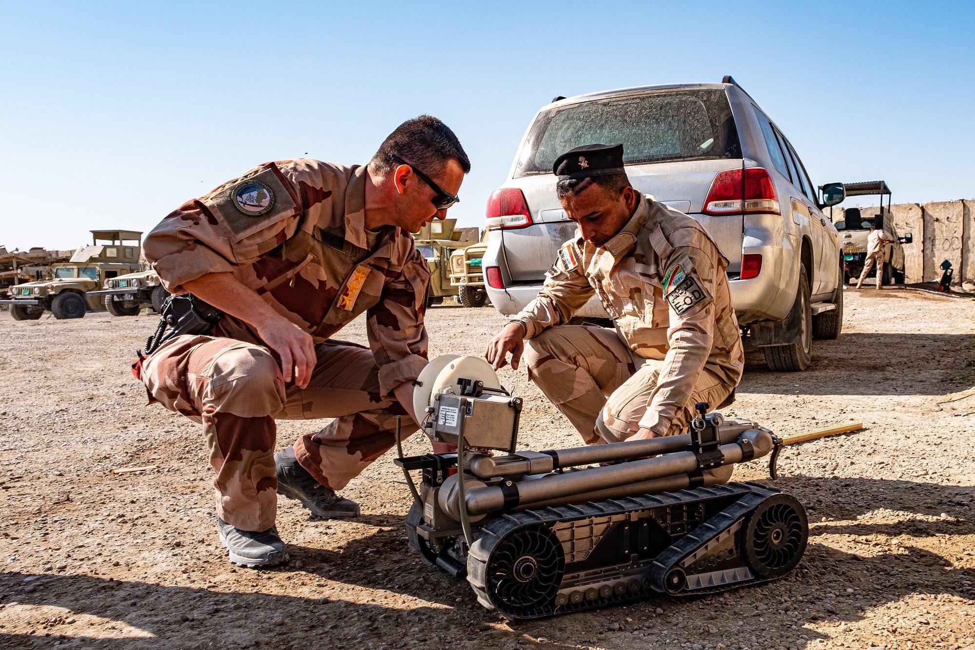 التحالف الدولي: فرنسا لا تزال ملتزمة بدعمها الجوي والمستشارين لمحارية داعش في العراق
