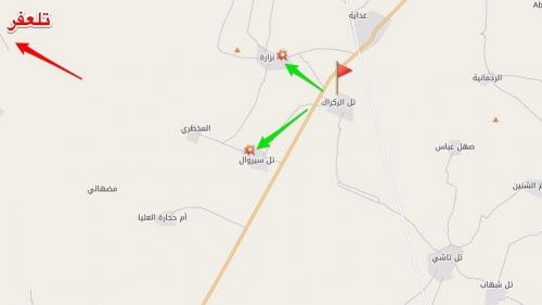 تطهير قرية النزارة غربي مدينة الموصل