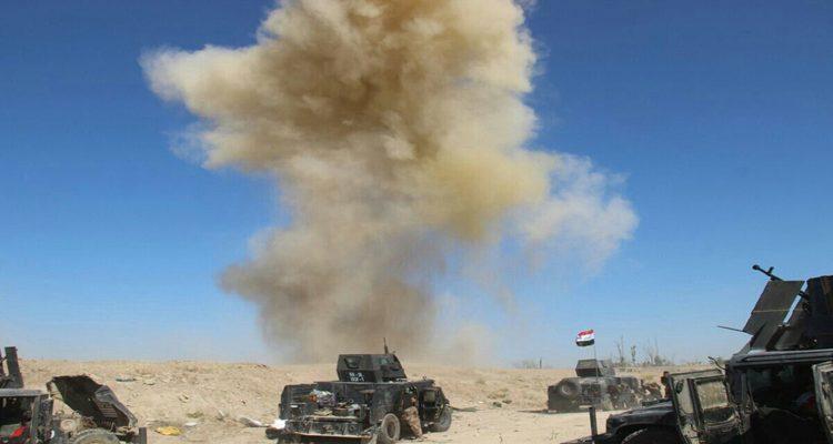 تدمير اربع مضافات لعصابات داعش جنوب كركوك