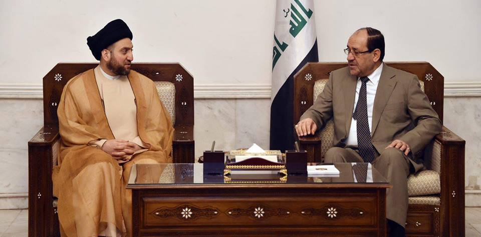 مفاوضات بين المالكي والحكيم لتشكيل ائتلاف انتخابي