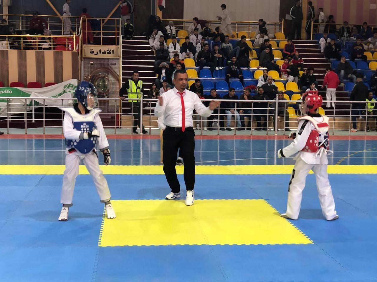 انطلاق بطولة تصفيات المنتخبات الوطنية للتايكواندو