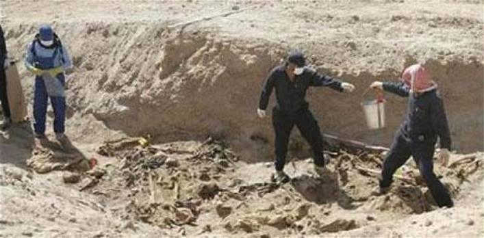 مفوضية حقوق الانسان تثمن موقف الحكومة باطلاق مليار دينار لدعم ملف المقابر الجماعية