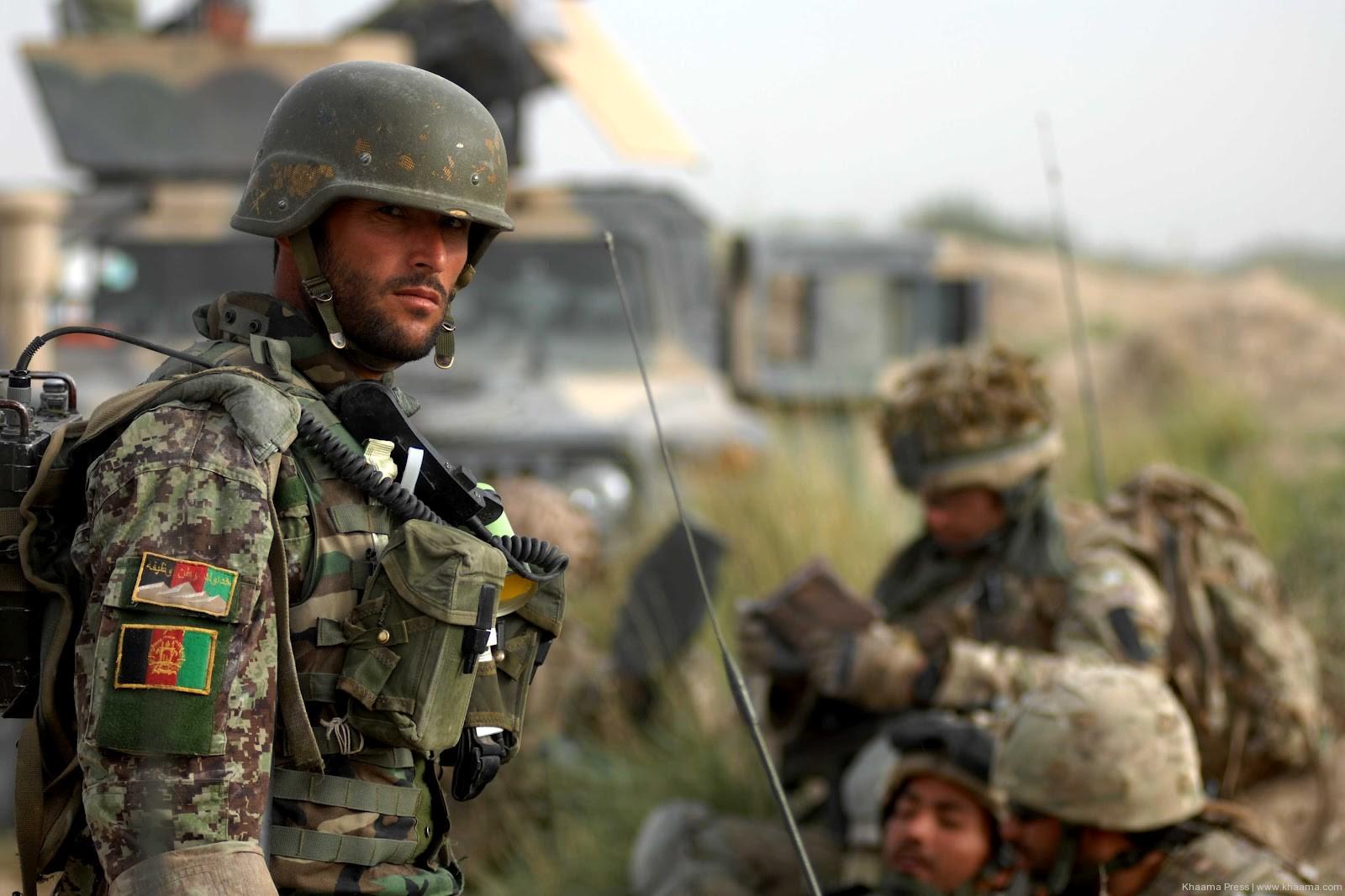 الامن الافغاني تعلن قتل 16 مسلحا بتسع ولايات