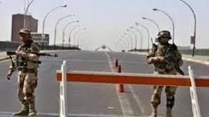 اغلاق مداخل ومخارج منطقة الحسينية شمالي بغداد