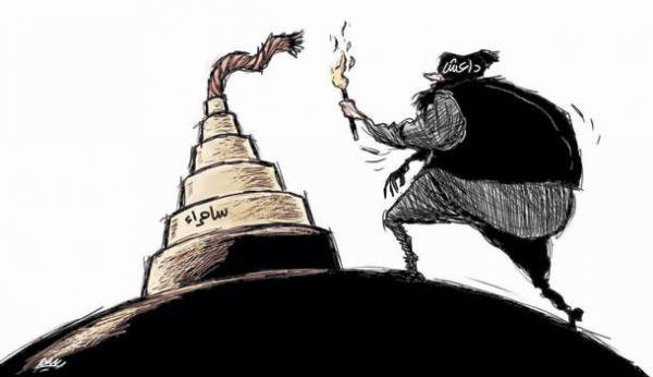 داعش يسعى لحرق سامراء