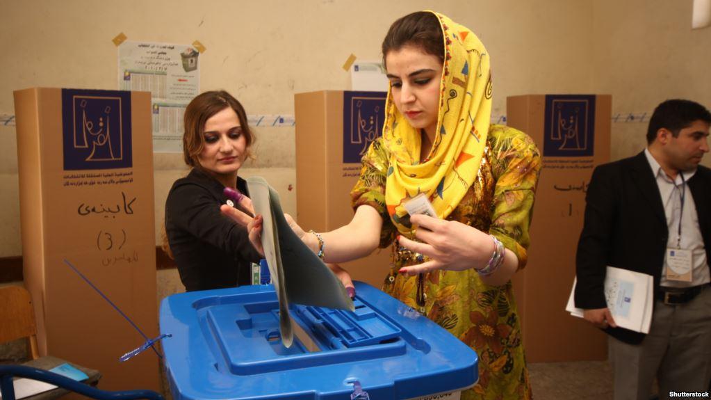 كافة محافظات كردستان تبدأ عملية الاقتراع لانتخابات برلمان الاقليم لعام 2018