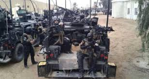 مكافحة الارهاب تحرر اول احياء الجانب الايمن لمدينة الموصل