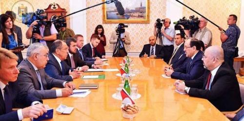 المالكي يدعو لتنشيط التعاون الثنائي مع موسكو بشكل أكبر لمحاربة الإرهاب في المنطقة