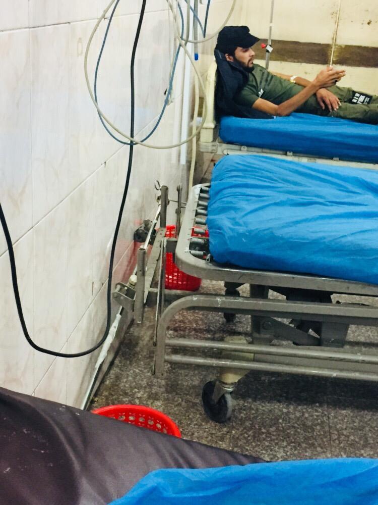 شاهد الصور ..  الواقع المرير لمستشفى الشيخ زايد وسط بغداد