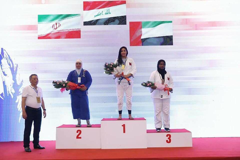 ثلاثة اوسمة للعراق في بطولة آسيا بالجوجتسو