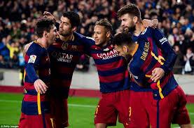 برشلونة يتخطى بيلباو بهدف راكيتيتش