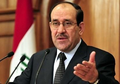 المالكي يؤكد على ضرورة نزع السلاح الغير مرخص من الميليشيات وحصره بيد الدولة