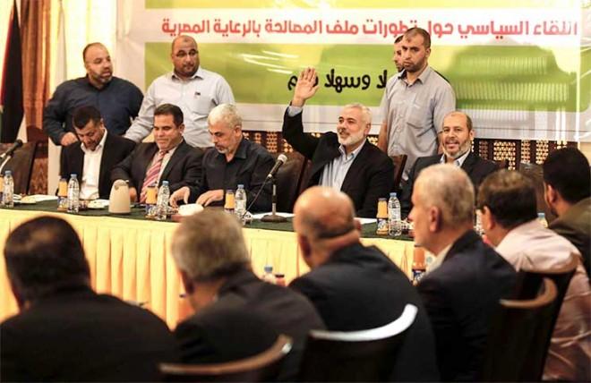 "حماس تنهي مشاوراتها بشأن ""التهدئة"" مع إسرائيل"