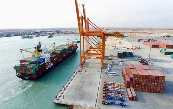 هيأة المنافذ :ايرادات ميناء ام قصر الاوسط بلغت اكثر من ( 20)مليار دينار  خلال حزيران الماضي
