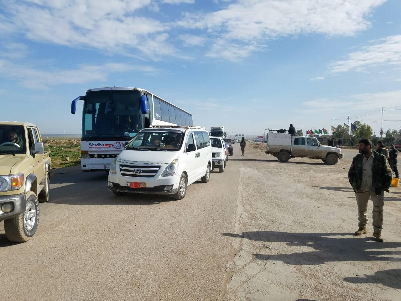 وزارة الهجرة: عودة 1200 نازح من خانقين إلى ناحية السعدية