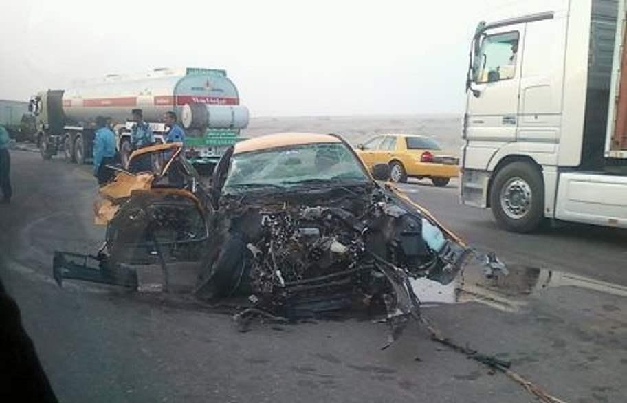 وفاة امرأة واصابة 4 اخرين في حادث سير في اربيل