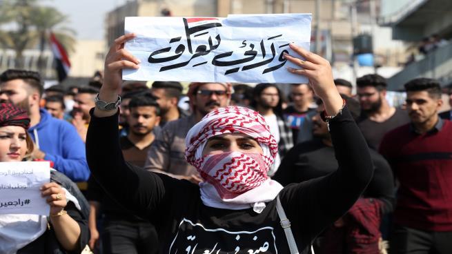 الحلفي: المتظاهرون ينتظرون كسر احتكار طغمة الحكم للسلطة في الانتخابات المبكرة
