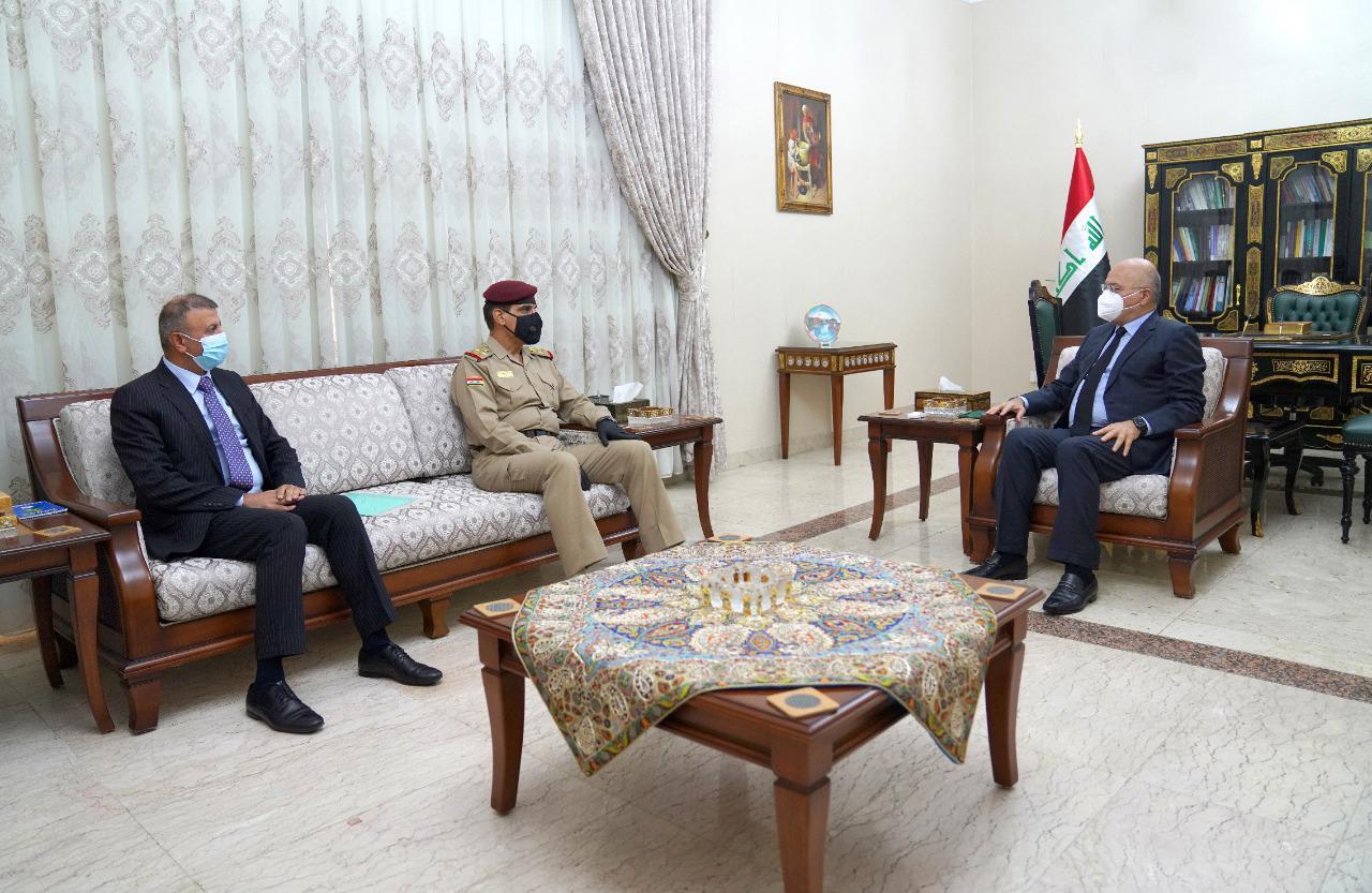 صالح خلال لقائه يار الله: المعركة ضد الارهاب لا تزال مستمرة