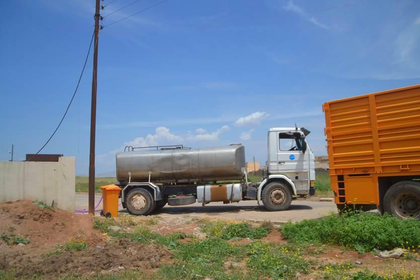 الفلاحين ينظمون تظاهرة للمطالبة بزيادة منسوب المياه لسقي اراضيهم الزراعية
