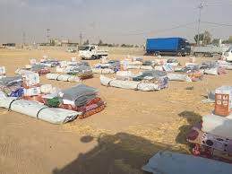 الهجرة: انشاء مخيم لنازحي الحويجة بواقع اكثر من الفي خيمة