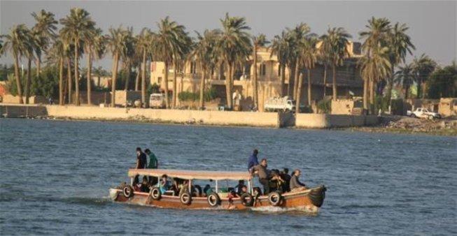 الموارد : الامطار الاخيرة خفضت نسبة الملوحة بشكل كبير في شط العرب