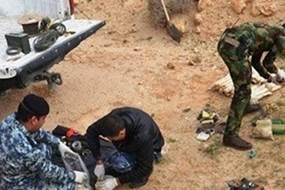 تطهير قرية في جزيرة سامراء بمحافظة صلاح الدين وتفجير سبع عبوات ناسفة