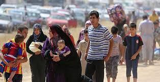 الاتحادية تخلي العوائل من إحياء جنوب شرقي الموصل وتنقلهم الى مخيم الخازر