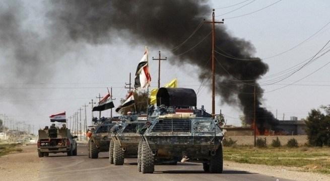 الشرطة الاتحادية تسيطر على الجسر القديم بأيمن الموصل