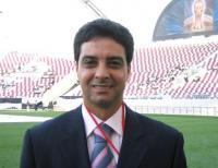 نجم الكرة العراقية أحمد راضي.. وكيلاً لوزارة الشباب والرياضة