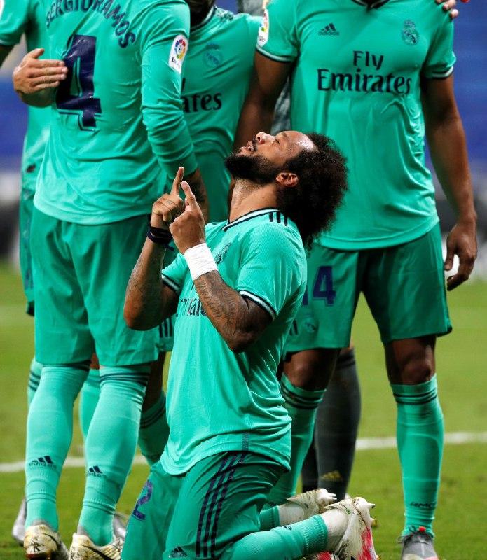 ريال مدريد يهزم اسبانيول ويبتعد في صدارة الليغا