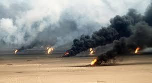 وزارة النفط تعلن عن اطفاء البئر 52 في حقل القيارة النفطي