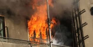 اندلاع حريق داخل أحد المنازل في مدينة الصدر