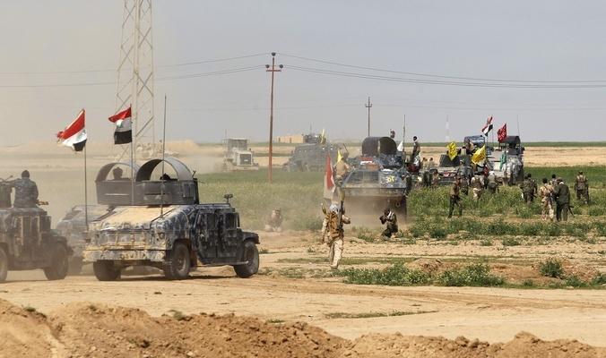 تنفيذ عملية تمشيط لتعقب خلايا داعش في جزيرة سامراء