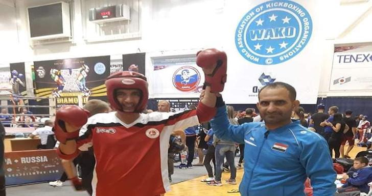 العراق يحصد 36 ميدالية ببطولة العالم للكيك بوكسنغ