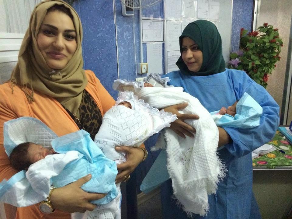 205 حالة ولادة خلال عيد الأضحى المبارك في ذي قار