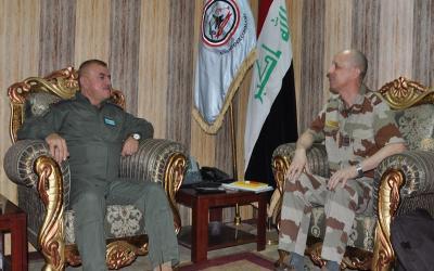 الملحق العسكري الفرنسي يؤكد على استمرار بلاده دعم العراق في مواجهة داعش