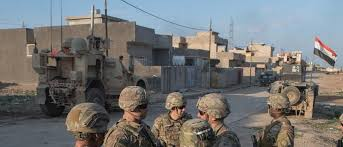 "Three shells landed on Camp ""Taji"" north of Baghdad Image"